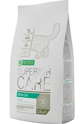 Natures Protection Superior Care White Cat Beyaz Tüylü Yetişkin Kedi Maması 1,5 Kg