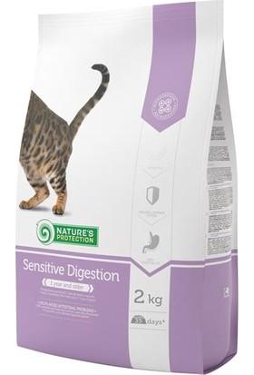 Natures Protection Sensitive Digestion Hassas Sindirim İçin Hindi Etli Yetişkin Kedi Maması 2 Kg