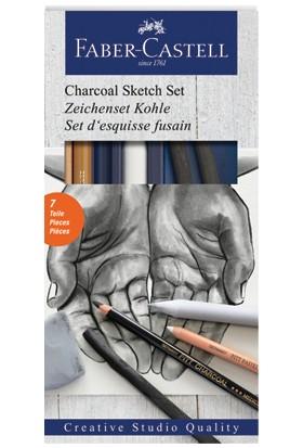 Faber-Castell Kömür Sketch Seti