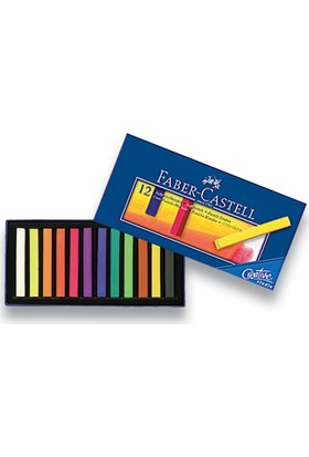 Faber-Castell Creative Studio Toz Pastel Boya (Soft) 12 Renk Tam Boy