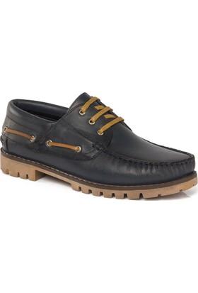 Muggo Men M22 Deri Ortopedik Erkek Ayakkabı