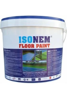 İsonem Floor Paint Tenis Kortu Boyası 18 Kg