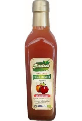 Sazlıca Organik Elma Sirkesi 500 ml