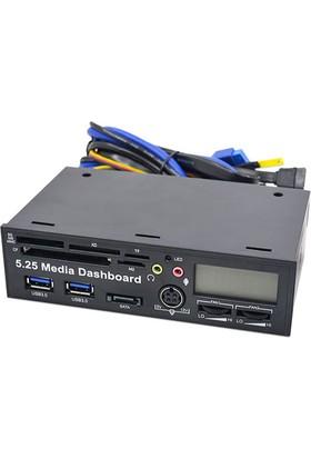 Platoon NHP-002 Fan Konrol Paneli USB 3.0 Çoklayıcı