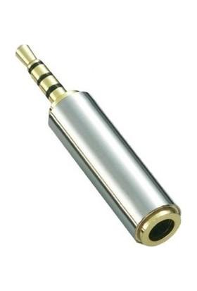 Oem Kulaklık Dönüştürücü Jak 3.5 mm Erkek To 2.5 mm Dişi Jak Dönüştürücü