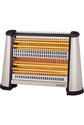 Simfer Loft S2600 WTX Buhar Fanlı Isıtıcı Quartz 2200W