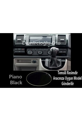 Demircioğlu Wolkswagen Golf 3 1995 Ve 1997 23 Parça Torpido Kaplama Piano Black ( Renk Piano Black )