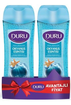 Duru Fresh Sensations Duş Jeli Okyanus Esintisi 500 ml & 500 ml