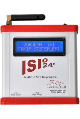 ISI24 Sıcaklık ve Nem Takip Sistemi