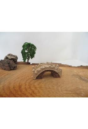 Green Wood Teraryum Malzemeleri Küçük Köprü Minyatür Obje