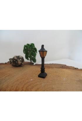 Green Wood Teraryum Malzemeleri Sokak Lambası Minyatür Obje