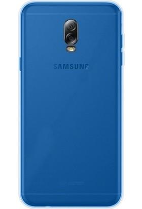 TeknoArea Galaxy C8 Kılıf Ultra İnce Silikon Kapak 0.2 mm