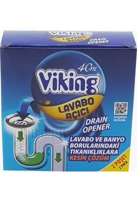 Viking Lavabo Açıcı Granül 2x75 g
