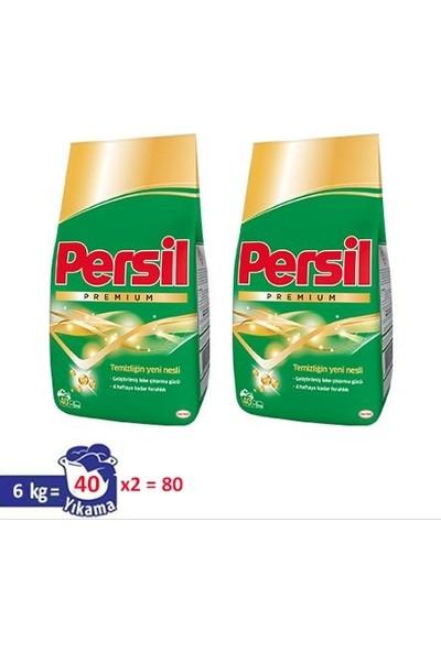 Persil Premium Toz Çamaşır Deterjanı 6 kg + 6 kg (2'li Set)