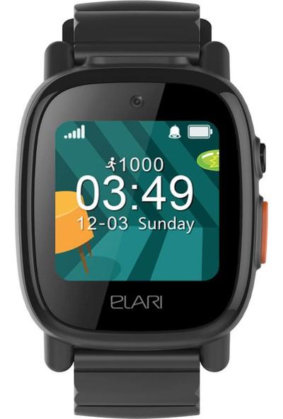 Elari FixiTime 3 GPS'li Suya Dayanıklı Akıllı Çocuk Saati - Siyah