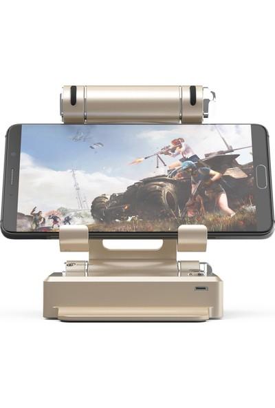 GameSir X1 BattleDock FPS Klavye ve Mouse Dönüştürücü Oyun Konsolu iOS / Android ile Uyumlu - Gold