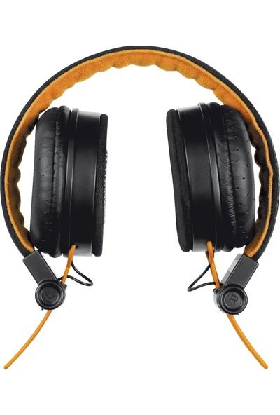 Trust Urbanrevolt 20079 Fyber Kulaküstü Kulaklık Siyah/Turuncu