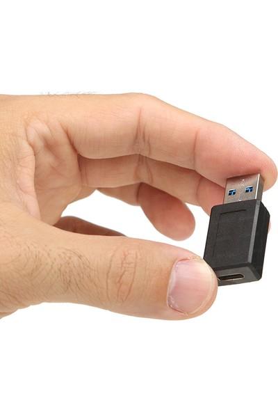 Dark USB 3.0 Type A Erkek - USB 3.1 Type C Dişi Dönüştürücü (DK-AC-U30X31)