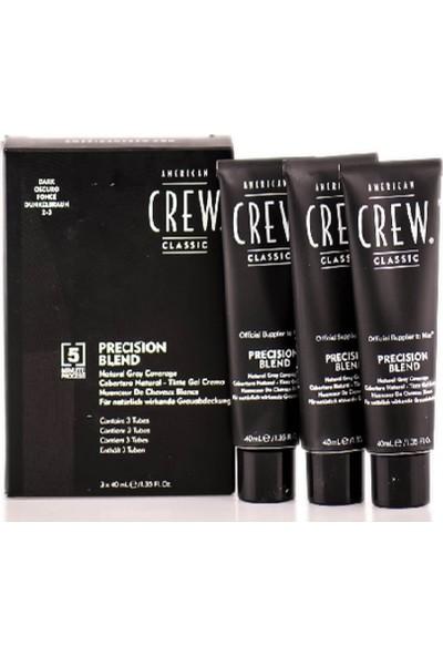American Crew Precision Blend 2-3 Erkek Beyaz Saç Kapatıcı 3 x 40 ml