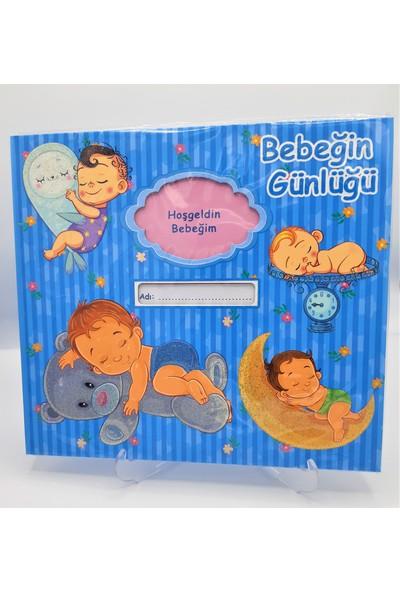 Rasyonel Bebeğin Günlüğü Mavi 30X27 SVN-607