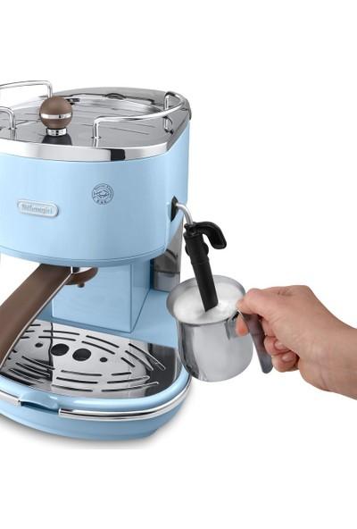 Delonghi ECOV311.AZ Icona Vintage Serisi Espresso ve Cappuccino Makinesi
