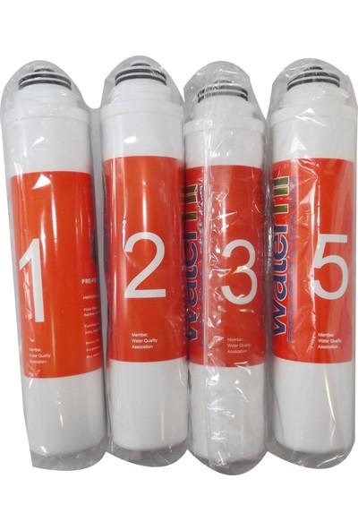 AquaPlus Water Life Su Arıtma Cihaz 4 Adet Filtre Set
