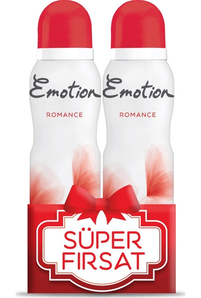 Emotion Romance 150 ml 2li Kadın Deodorant