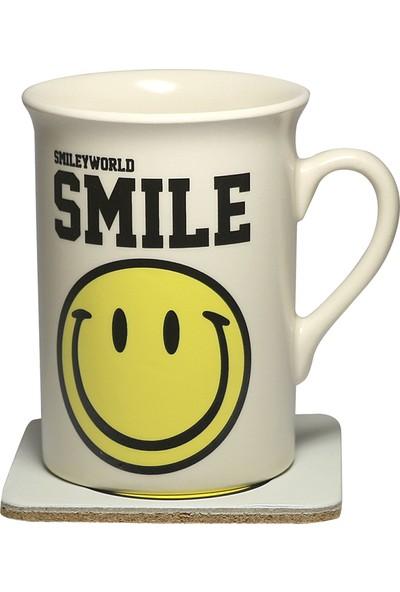 Smiley Express World Smile Kupa Ve Bardak Altlığı