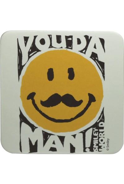 Smiley Express You Da Man Kupa Ve Bardak Altlığı