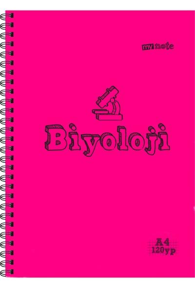 Mynote Bıyolojı Defteri A4 120 Yaprak Kareli