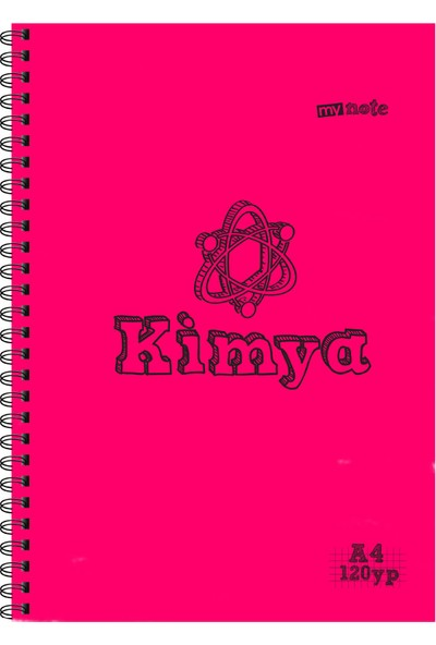 Mynote Kımya Defteri A4 120 Yaprak Kareli