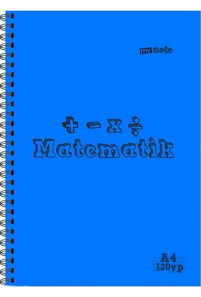 Mynote Matematık Defteri A4 120 Yaprak Kareli