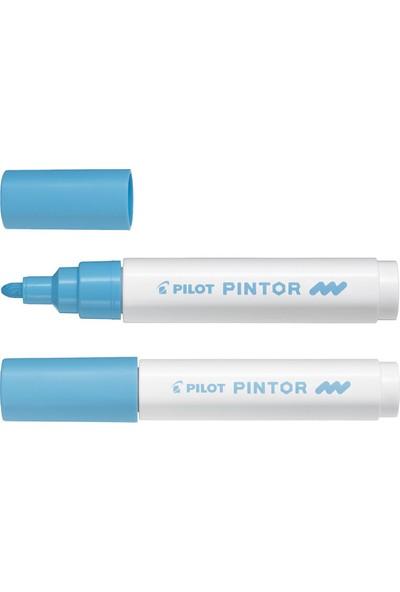Pilot Pintor Dekorasyon Boyama Kalemi M Açık Pastel Mavi