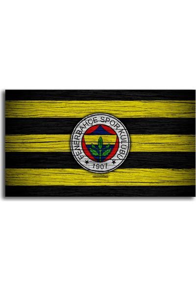 Tablo Kanvas Fenerbahçe Bayrağı Tablo