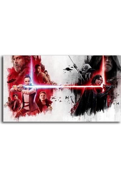 Tablo Kanvas Star Wars-2 Desenli Kanvas Tablo