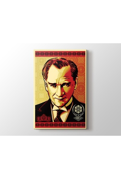 Tablo Kanvas Shepard Fairey - Obey Atatürk Tablo