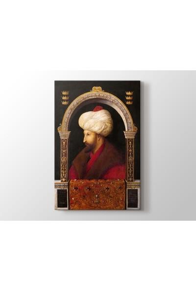 Tablo Kanvas Gentile Bellini - Fatih Sultan Mehmet Tablo