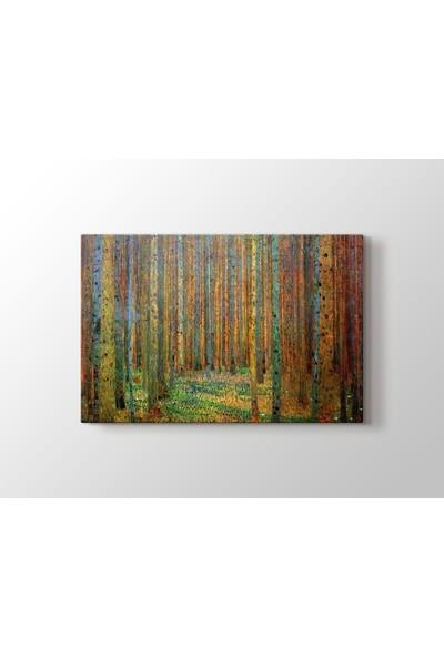 Tablo Kanvas Gustav Klimt Tannenwald - Çam Ormanı Tablo
