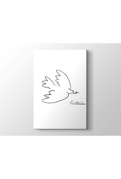 Tablo Kanvas Pablo Picasso - Dove Of Peace Tablo