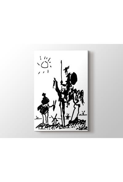 Tablo Kanvas Pablo Picasso - Don Quixote Tablo