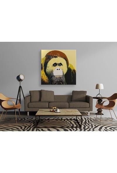 Tablo Kanvas Andy Warhol - Orangutan Tablo
