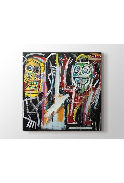 Tablo Kanvas Jean-Michel Basquiat - Dustheads Tablo