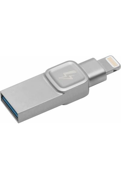 Kingston DataTraveler Bolt Duo 32GB USB 3.1 Apple Usb Bellek (C-USB3L-SR32G-EN)