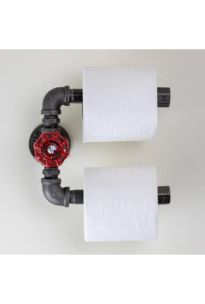Dekorle Dekoratif Vanalı İkili Tuvalet Kağıdı Tutacağı - DA01102