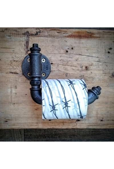 Dekorle - Stoperli Tuvalet Kağıdı Tutacağı - DA01114