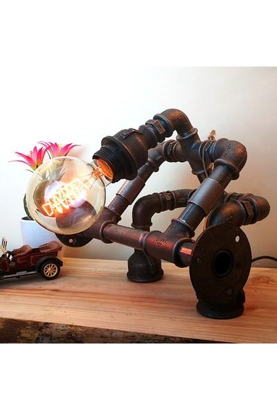 Dekorle Halter Kaldıran Model Masa Lambası - DL01107