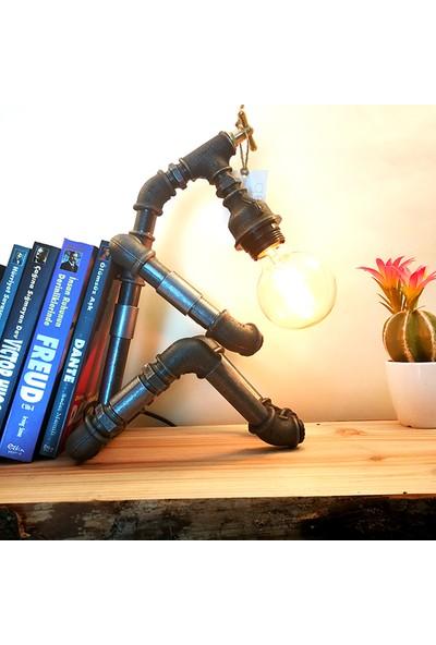 Dekorle Kitap Sırtı Model Masa Lambası - DL01109