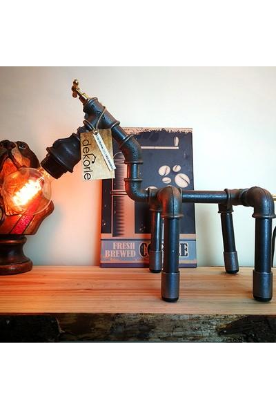 Dekorle Köpek Model Masa Lambası - DL01119