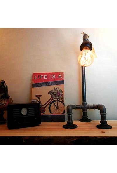 Dekorle Üç Ayaklı Dekoratif Model Masa Lambası - DL01120