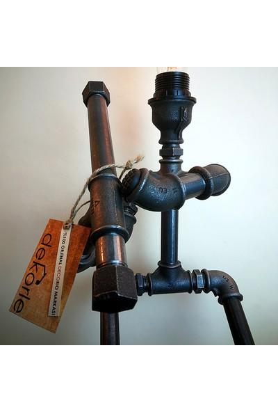 Dekorle Beyzbol Sopalı Model Masa Lambası - DL01125